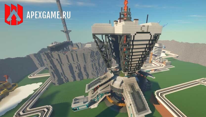 Apex Legends построили в Minecraft