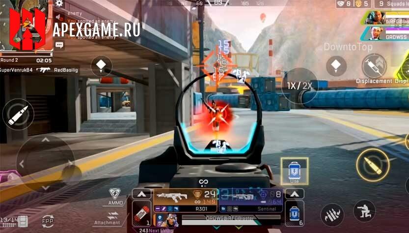 трейлер и геймплей apex legends mobile
